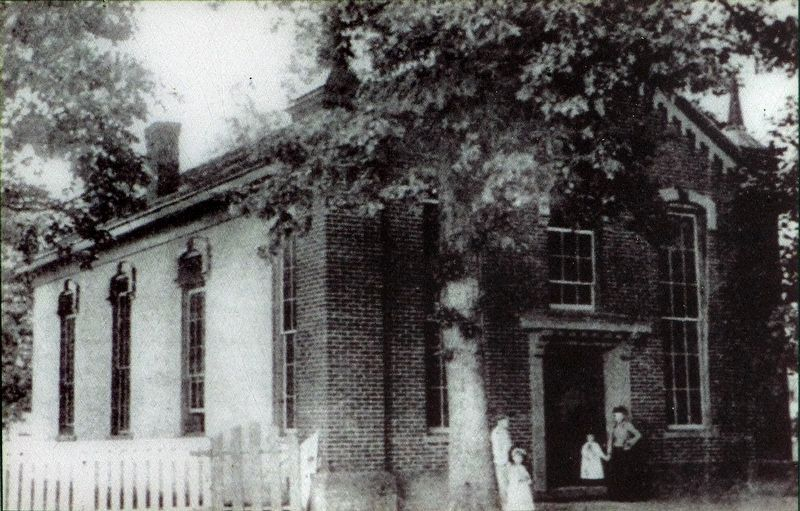 The 1864 Rockville Baptist Church image. Click for full size.