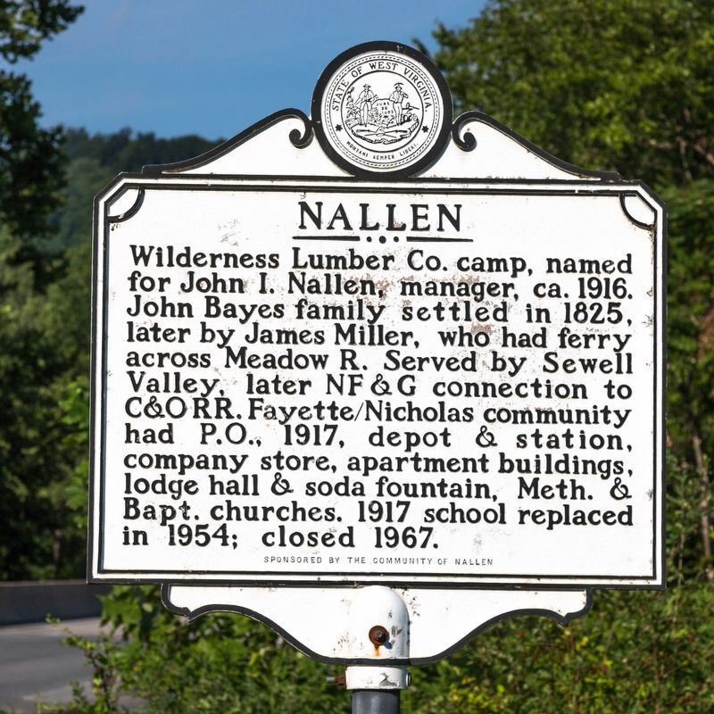 Nallen side of marker image. Click for full size.