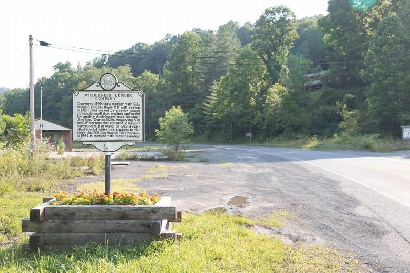 Nallen / Wilderness Lumber Company Marker image. Click for full size.