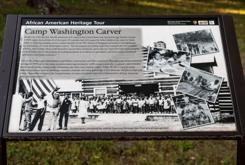 Camp Washington Carver Marker image. Click for full size.