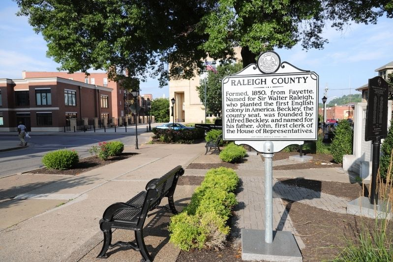 Raleigh County Marker image. Click for full size.