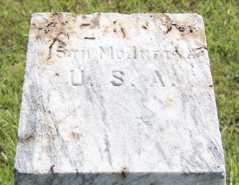 15th Missouri Infantry Marker image. Click for full size.