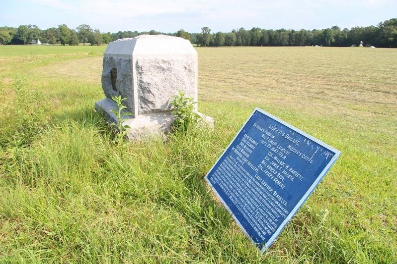 73rd Illinois Infantry Marker image. Click for full size.