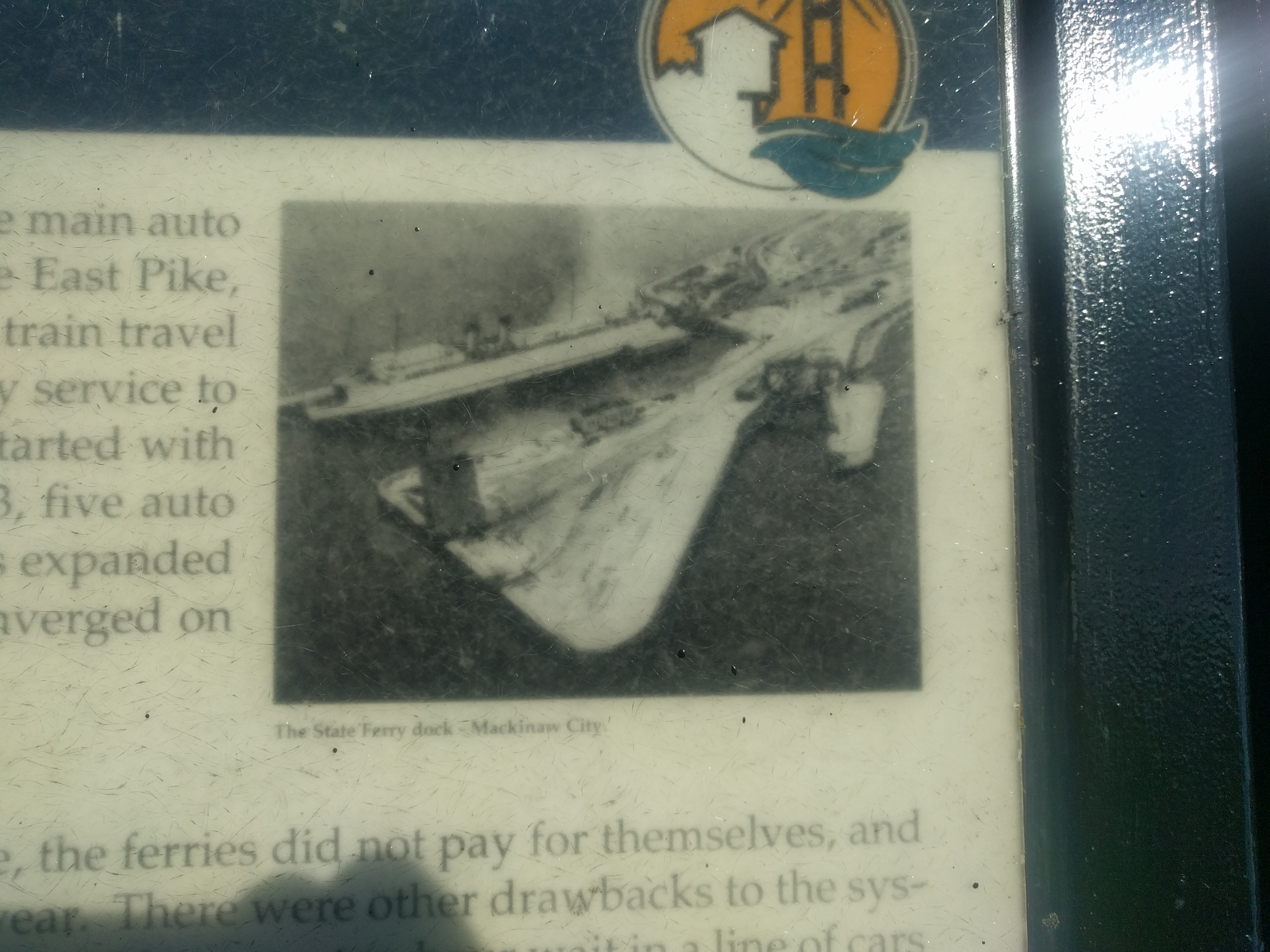 Auto Ferries Marker - upper right image
