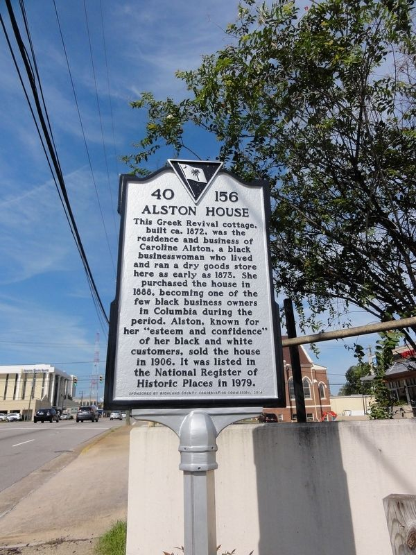 Alston House Marker image. Click for full size.
