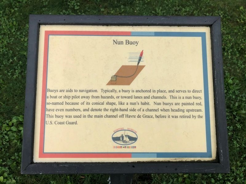 Nun Buoy Marker image. Click for full size.
