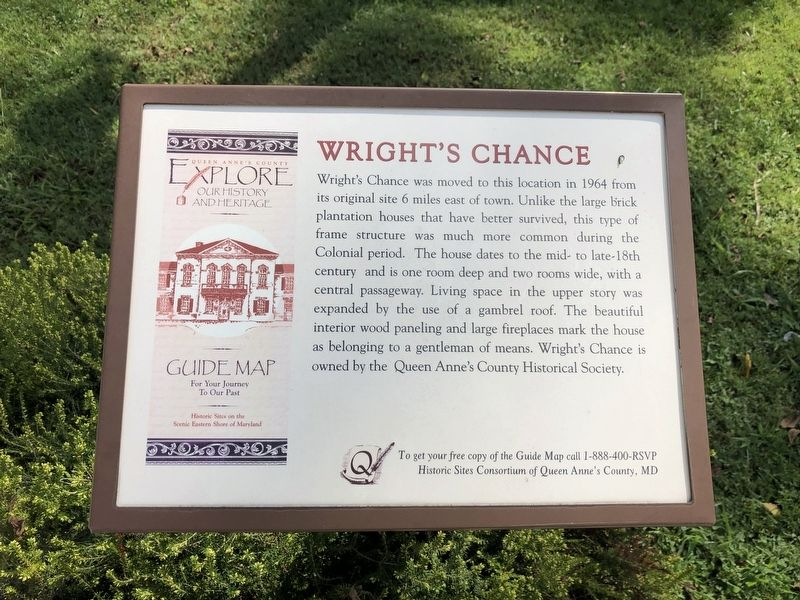 Wright's Chance Marker image. Click for full size.