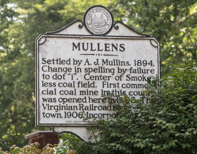 Mullens Marker image. Click for full size.