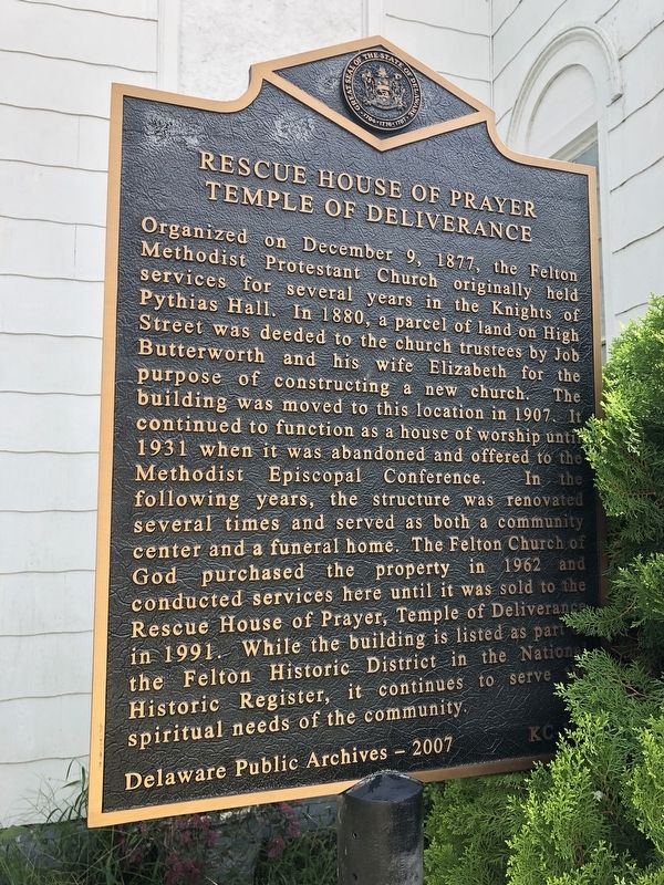 Rescue House of Prayer Marker image. Click for full size.