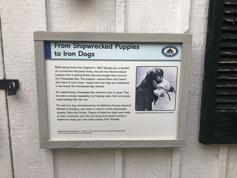 From Shipwrecked Puppies to Iron Dogs Marker image. Click for full size.