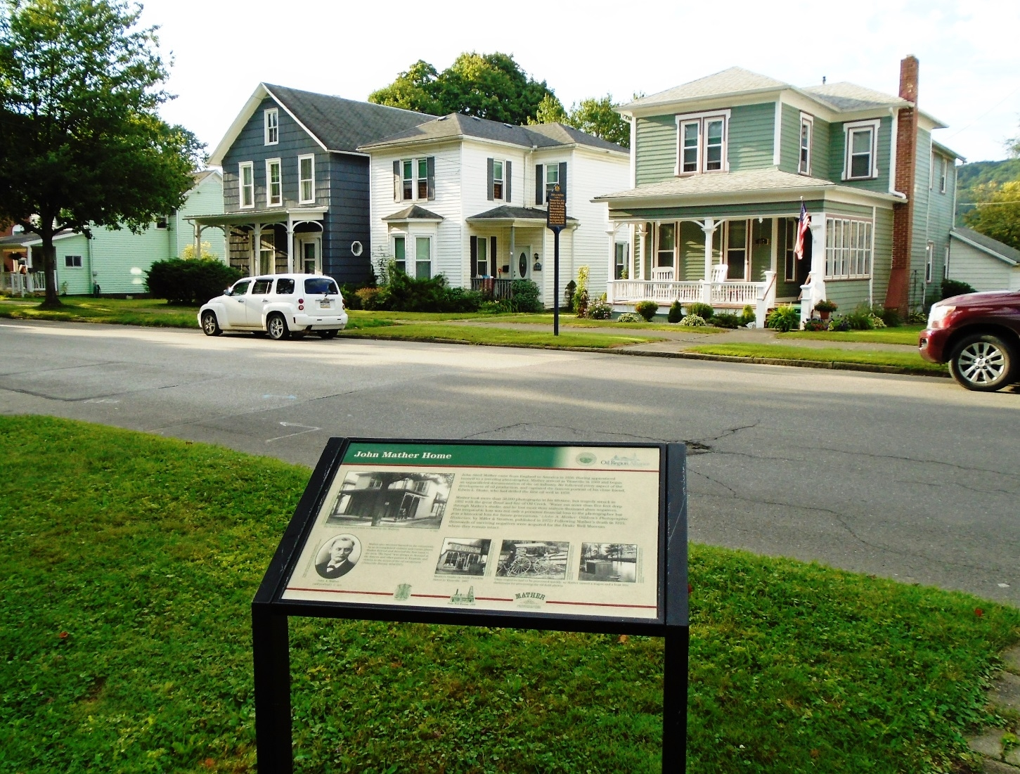 John Mather Home and Marker