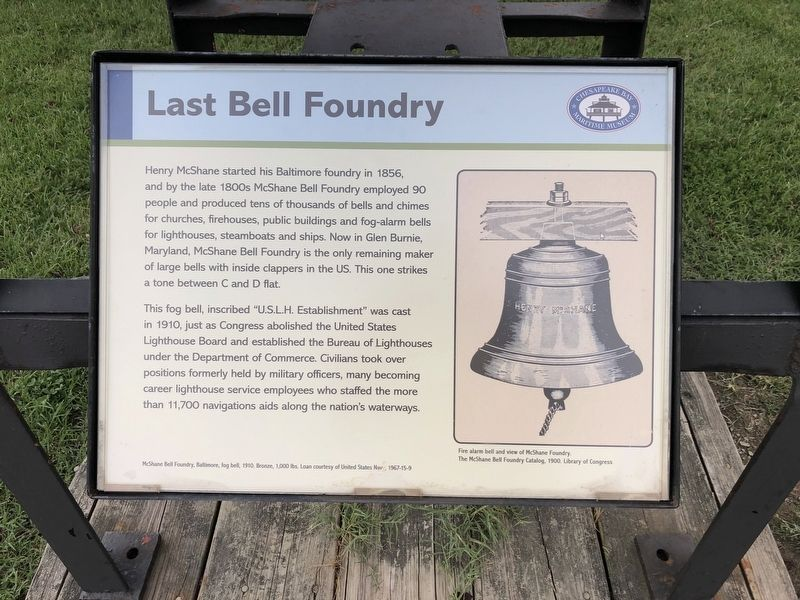 Last Bell Foundry Marker image. Click for full size.
