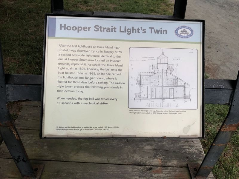 Hooper Straight Light's Twin Marker image. Click for full size.