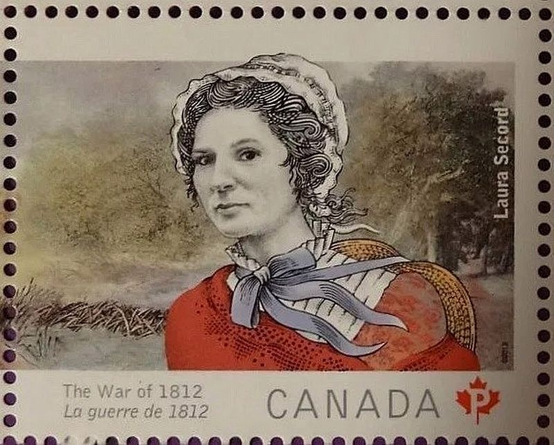 Laura Ingersoll Secord Stamp image. Click for full size.