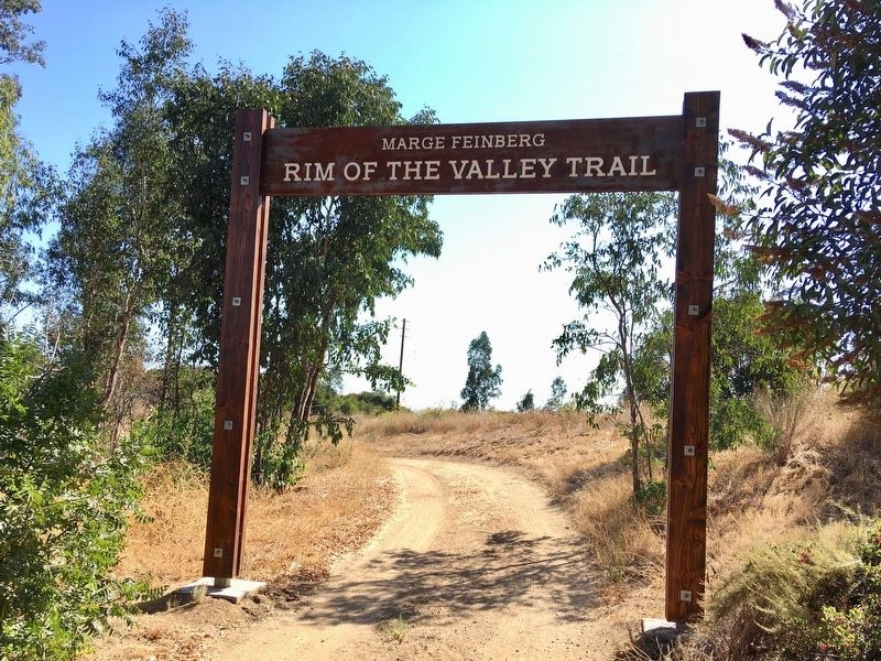 Rim of the Valley Trail image. Click for full size.