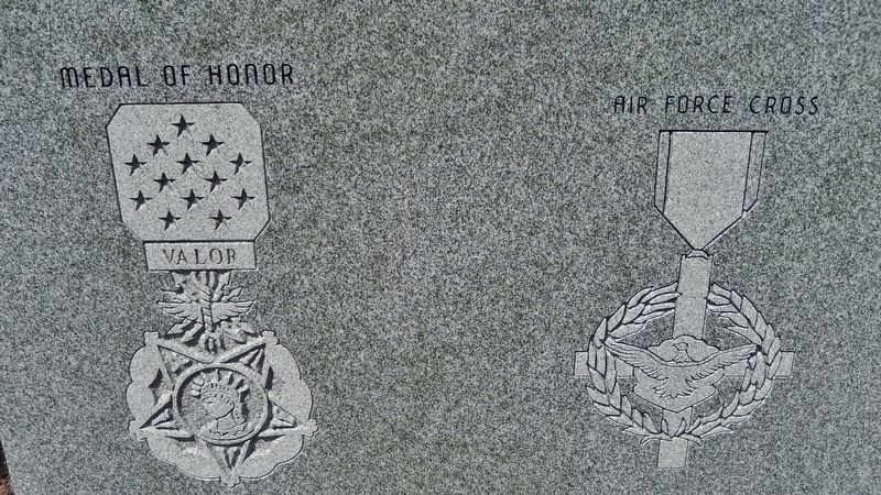Richard L. Etchberger • Medal of Honor • Air Force Cross image. Click for full size.