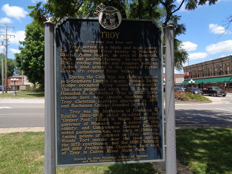 Troy Marker, rear side image. Click for full size.