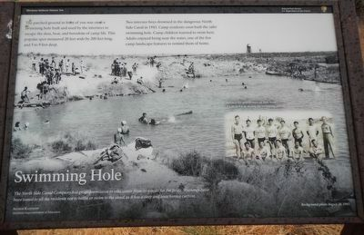 Swimming Hole Marker image. Click for full size.