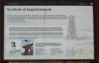 Symbols of Imprisonment Marker image. Click for full size.
