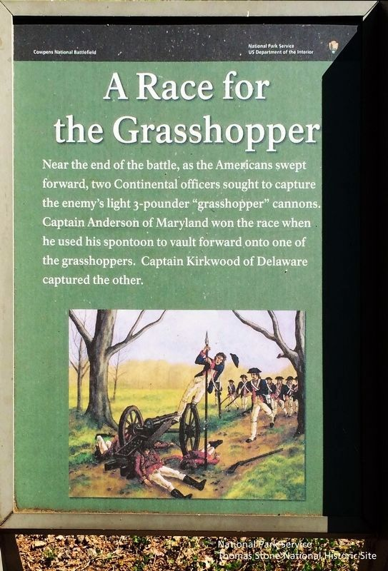 A Race for the Grasshopper Marker image. Click for full size.
