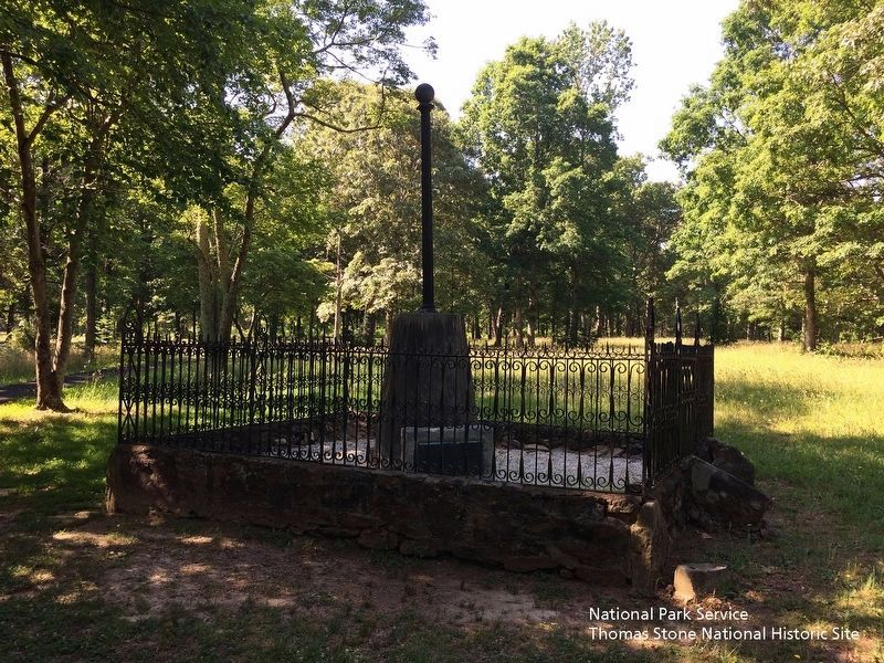 Washington Light Infantry Monument with the marker at it base. image. Click for full size.