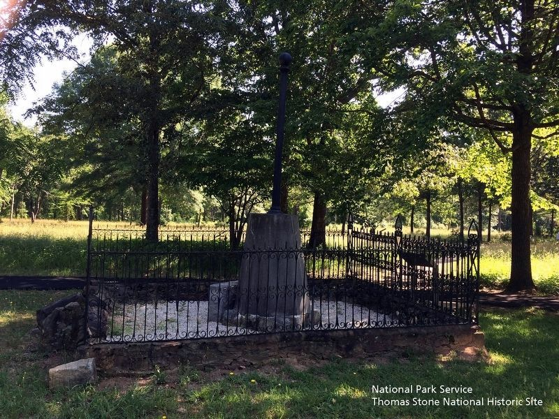 Washington Light Infantry Monument Marker is visible along the right edge of the fence. image. Click for full size.