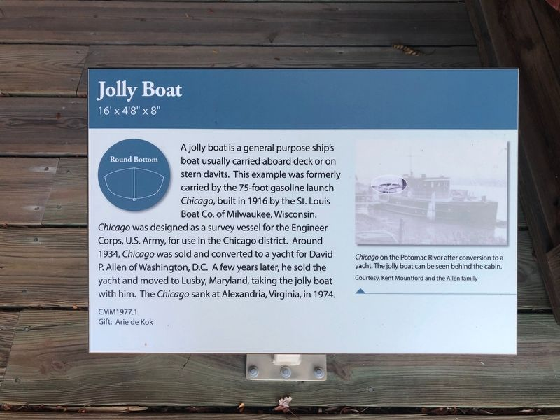 Jolly Boat Marker image. Click for full size.