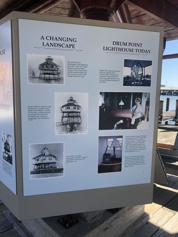 Welcome to Drum Point Lighthouse Marker image. Click for full size.