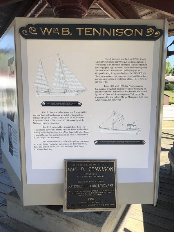 Wm. B. Tennison Marker image. Click for full size.
