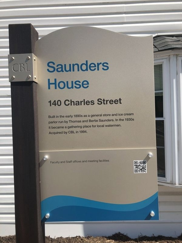 Saunders House Marker image. Click for full size.