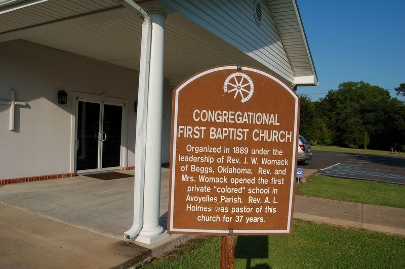 Congregational First Baptist Church Marker image. Click for full size.