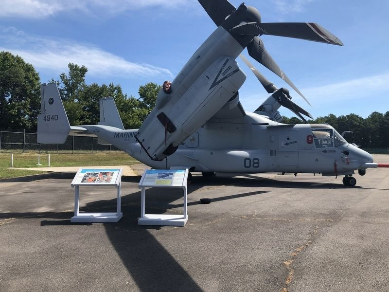 Bell-Boeing MV-22B Osprey Test Aircraft No. 8 image. Click for full size.