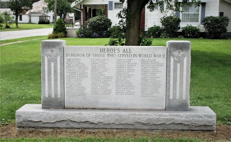 Modoc Veterans Memorial image. Click for full size.