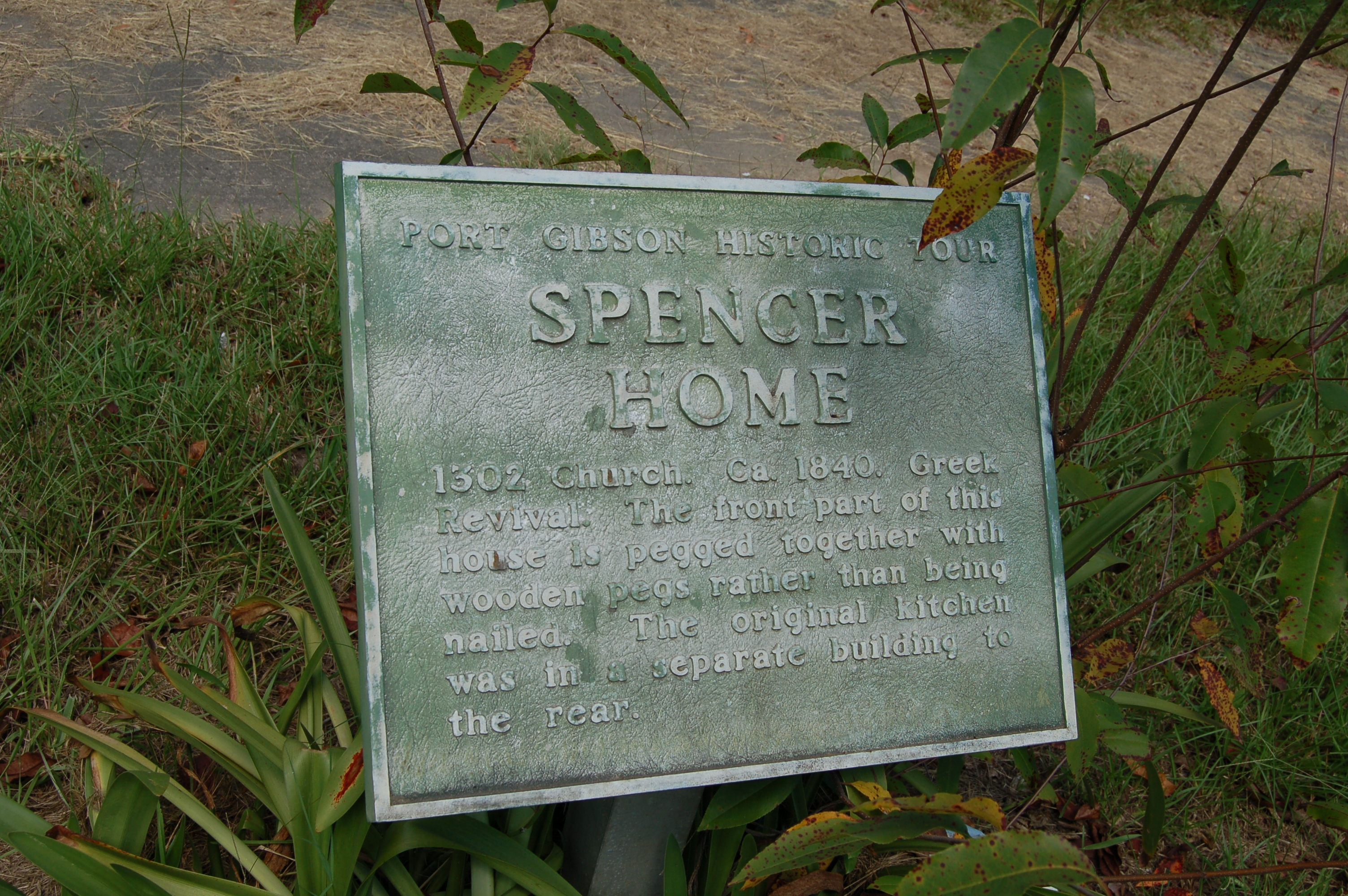Spencer Home Marker