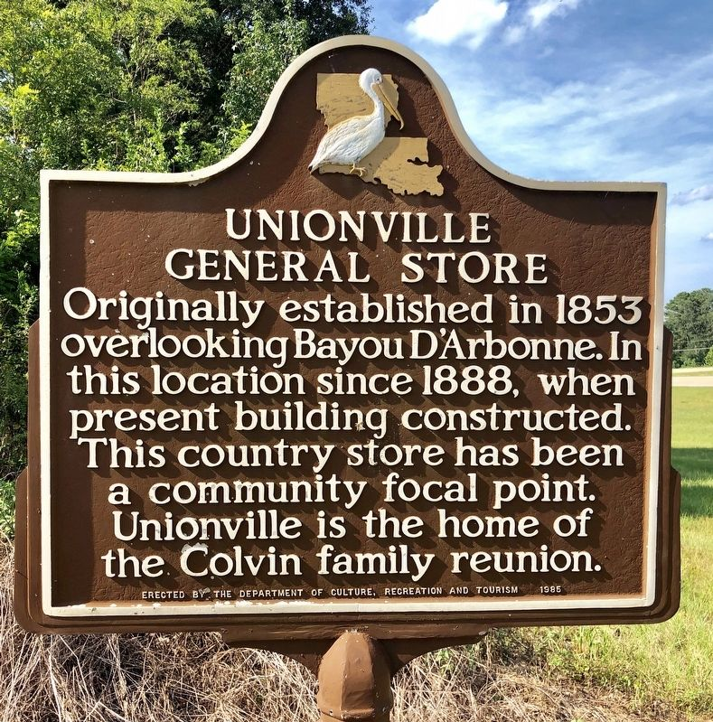 Unionville General Store Marker image. Click for full size.