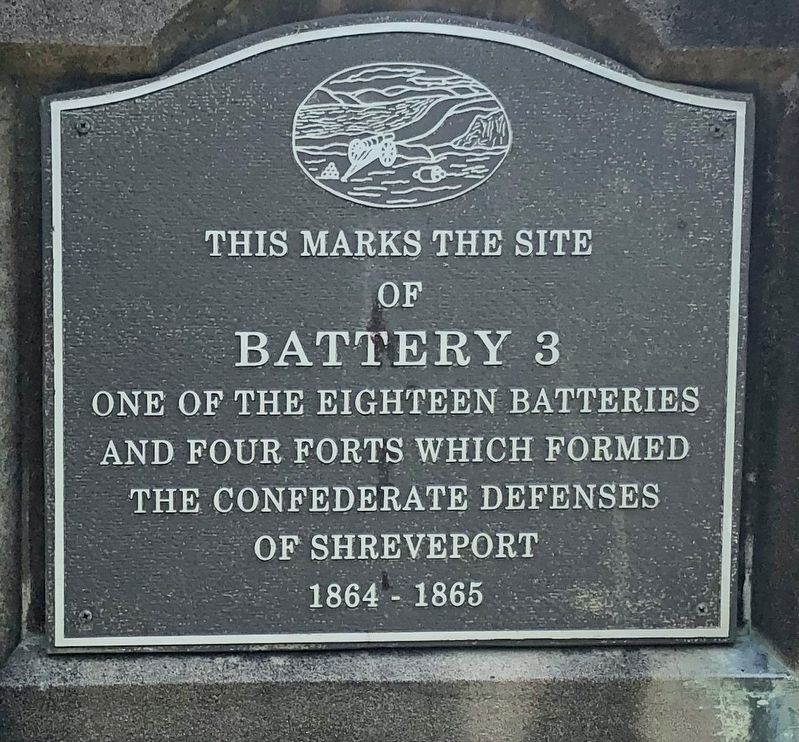 This Marks the Site of Battery 3 Marker image. Click for full size.