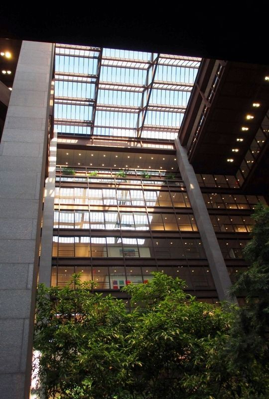 Ford Foundation Building skylight image. Click for full size.