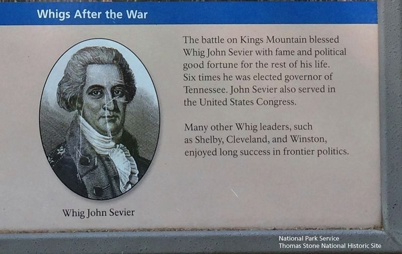 "American Victors Marker's inset which is called ""Whigs After the War."" image. Click for full size."