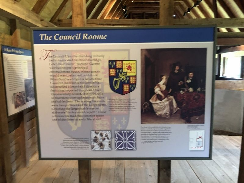 The Council Roome Marker image. Click for full size.