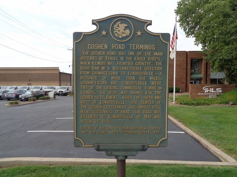 Goshen Road Terminus Marker image. Click for full size.