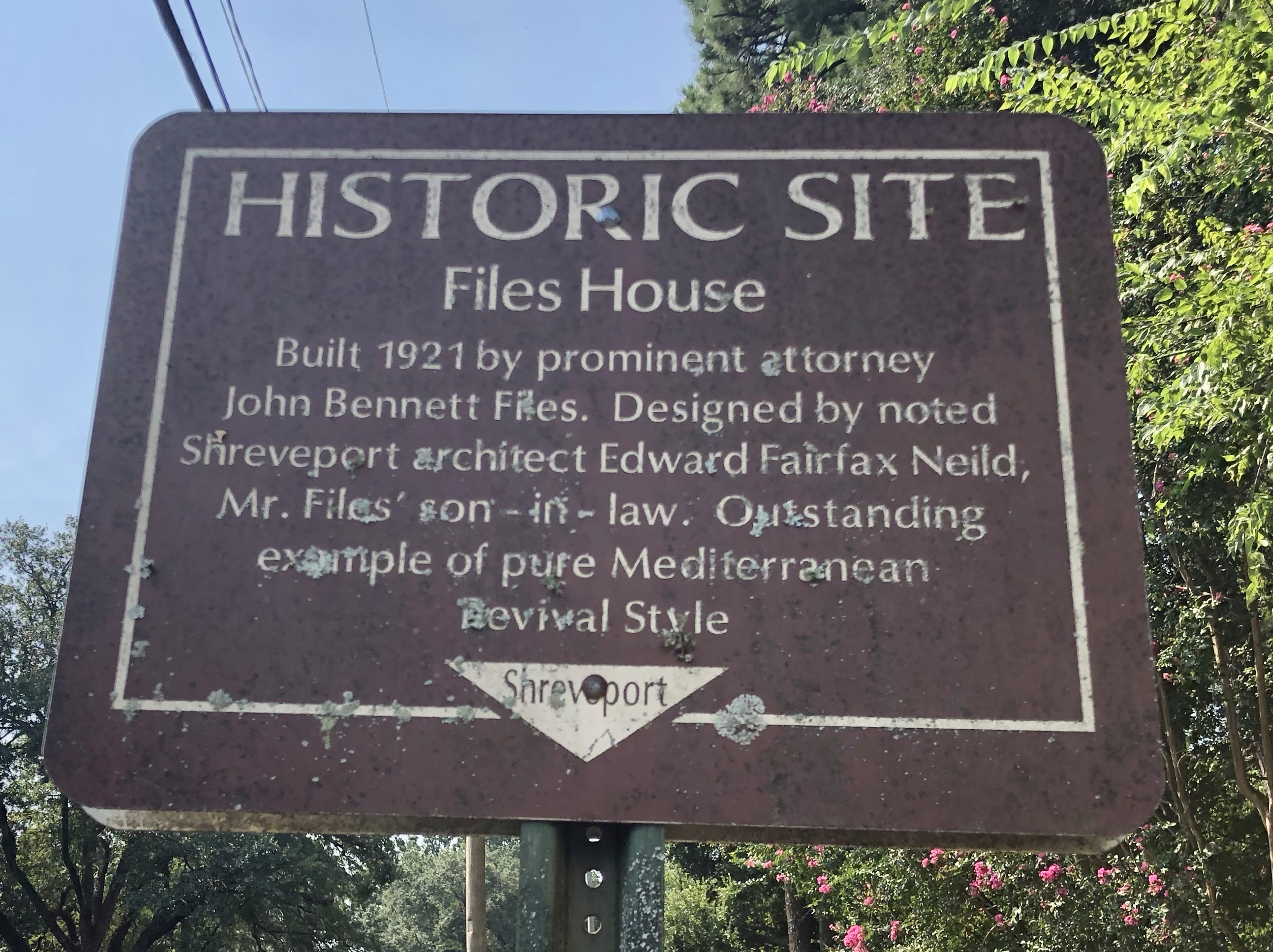 Files House Marker
