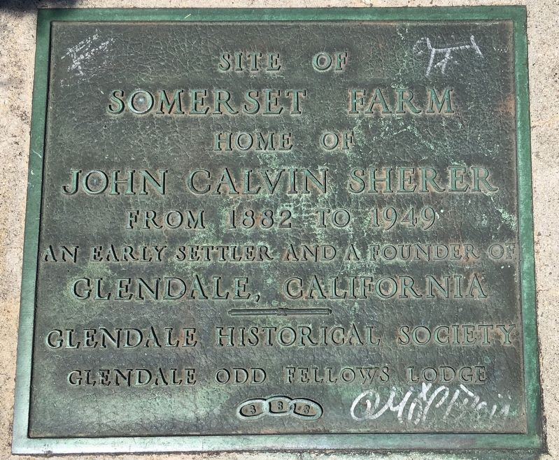 Somerset Farm Marker image. Click for full size.