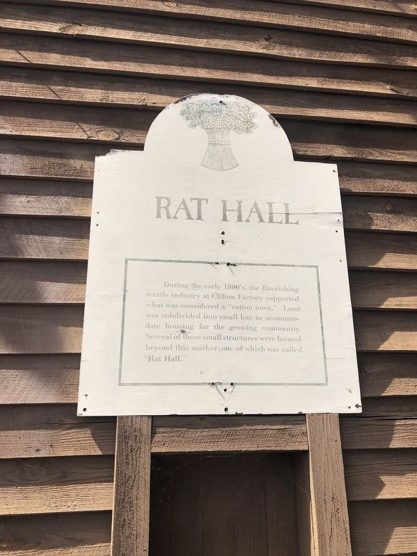 Rat Hall Marker image. Click for full size.