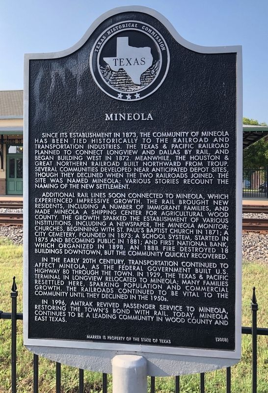 Mineola Marker image. Click for full size.
