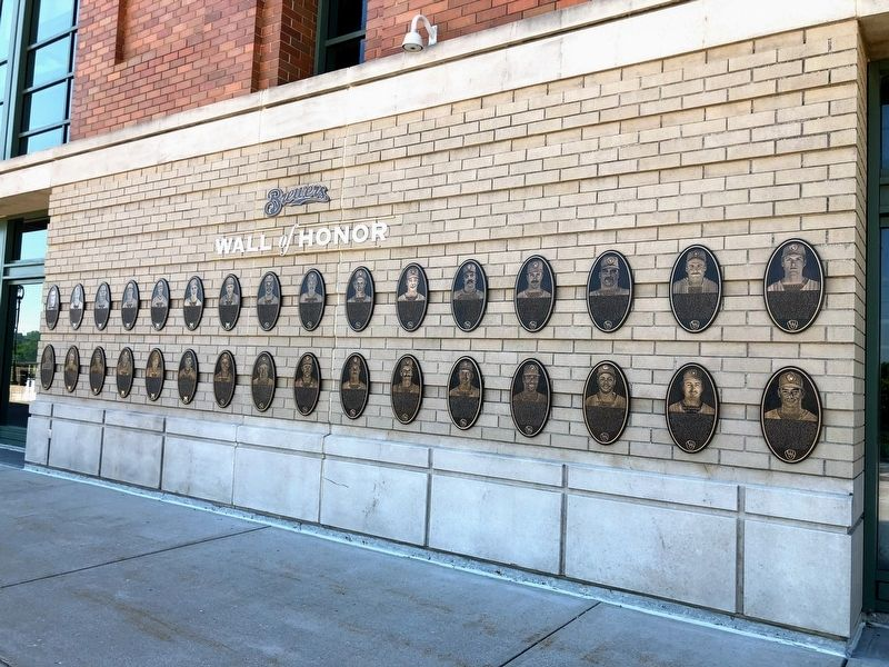 Brewers Wall of Honor image. Click for full size.