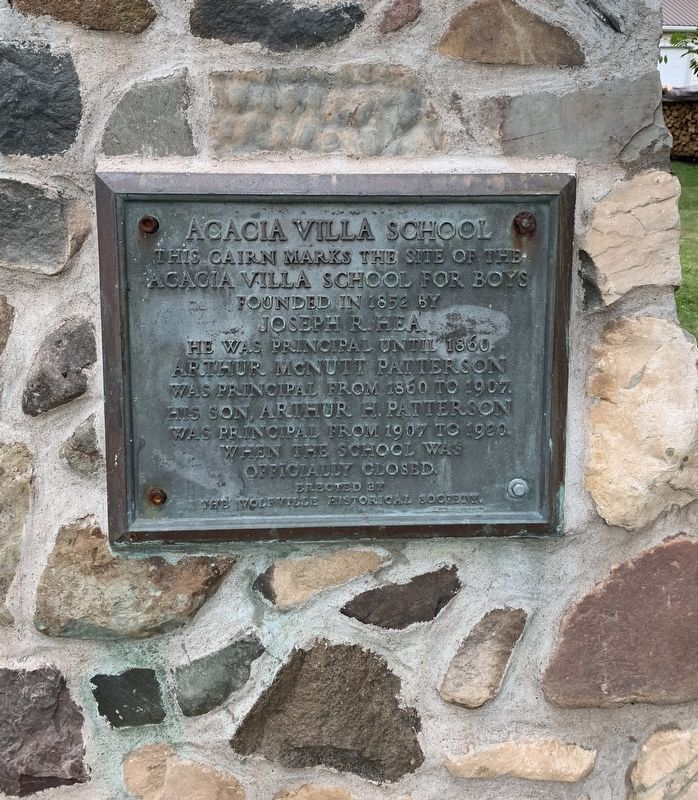 Acadia Villa School Marker image, Touch for more information