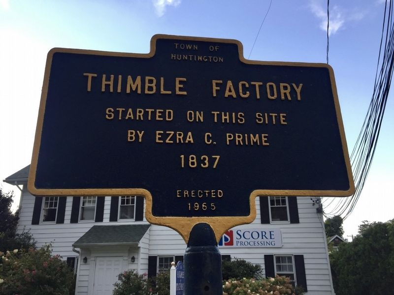 Thimble Factory Marker image. Click for full size.