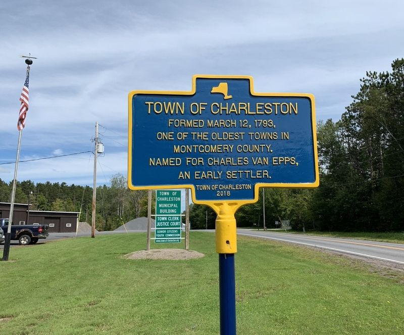 Town of Charleston Marker image. Click for full size.