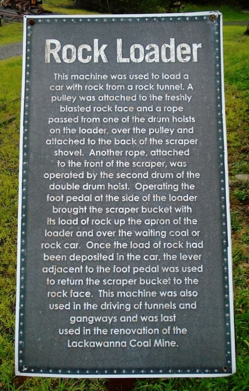 Rock Loader Marker image. Click for full size.