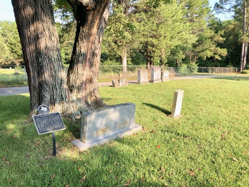 Richard Malcolm Smith gravesite & marker. image. Click for full size.